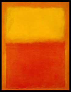 orange-and-yellow, Mark Rothko