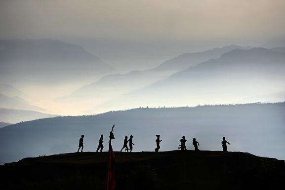 La Chaine Himalayenne, Nepal, 2005 © Matthieu Ricard