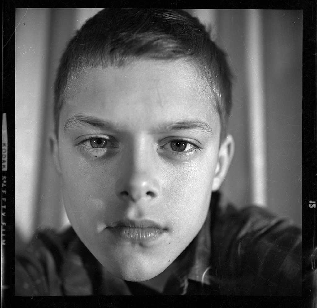 Self Portrait 1961, age 11 © David Ulrich