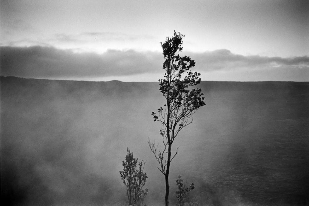 Kilauea Crater Volcano Hawai'i Island 2007 © Franco Salmoiraghi