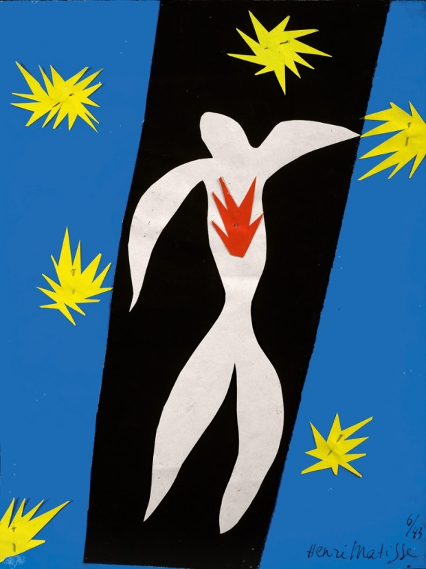 The Fall of Icarus, Matisse 1947