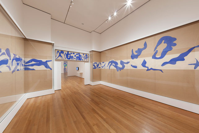 Matisse Cut-Outs, Swimming Pool Installation, MoMA 2014